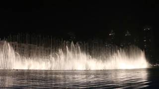 The Dubai Fountain 2015 Happy English 2015/12/26
