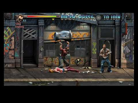 Raging Justice Gameplay (Beat Em Up Retro Style Game) - STAGE 1 |