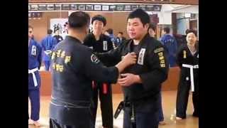 (104) Gongkwon Yusul Sparring training (Korean Martial Arts)