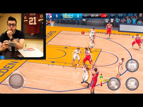 NBA Live Mobile Ultimate Team - Opening Tons of Packs!!