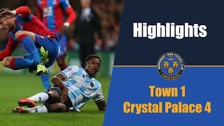 HIGHLIGHTS | Crystal Palace 4-1 Shrewsbury Town