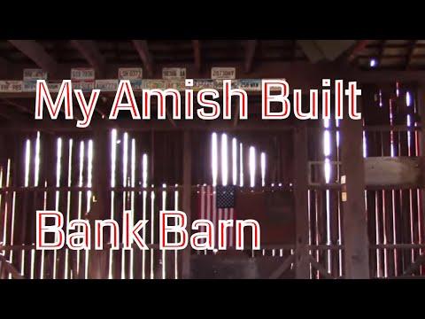 My Ohio Timber Frame Amish built Bank Barn