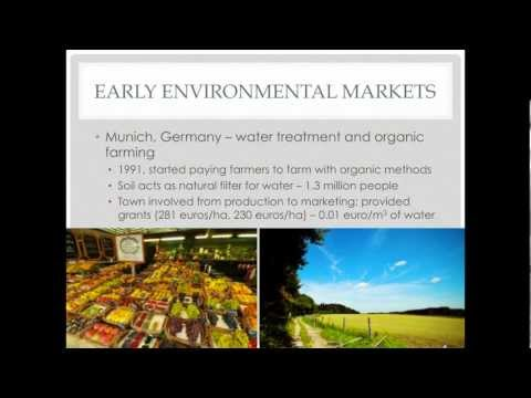 Dr. Alison Eagle, U of Alberta, Water and Energy as Pioneers in Environmental Markets