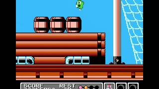 Mr Gimmick! - Nintendo Nes / Famicom (Gameplay Video)