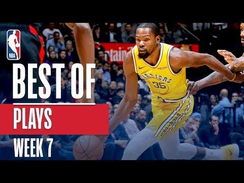 NBA's Best Plays | Week 7