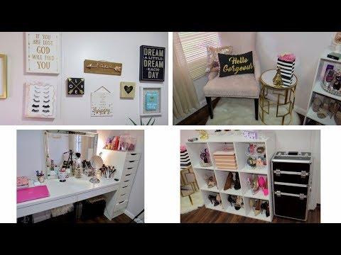 Room Tour BEAUTY ROOM | Room Tour Cuarto de Maquillaje | abylovejm
