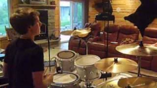 Puddle of Mudd-Psycho Drum Cover