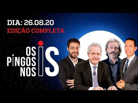 OS PINGOS NOS IS - 26/08/20 - FAKE NEWS DE BARROSO / MORO APÁTICO / ENTREVISTA: MILTON RIBEIRO