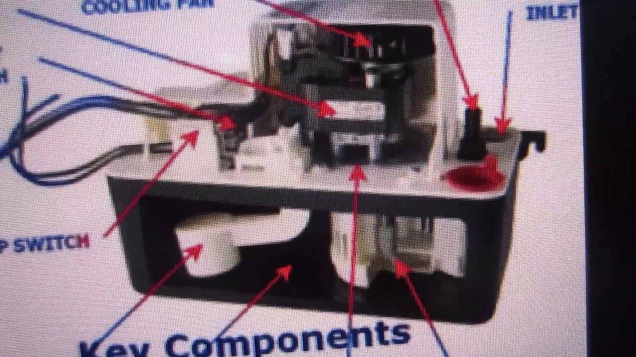 how to fix condensate pump broken switch replacement [ 1280 x 720 Pixel ]