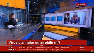 "Prof. Dr. Zehra Neşe Kavak - NTV ""Ana Haber Bülteni"" - 24.11.2020"