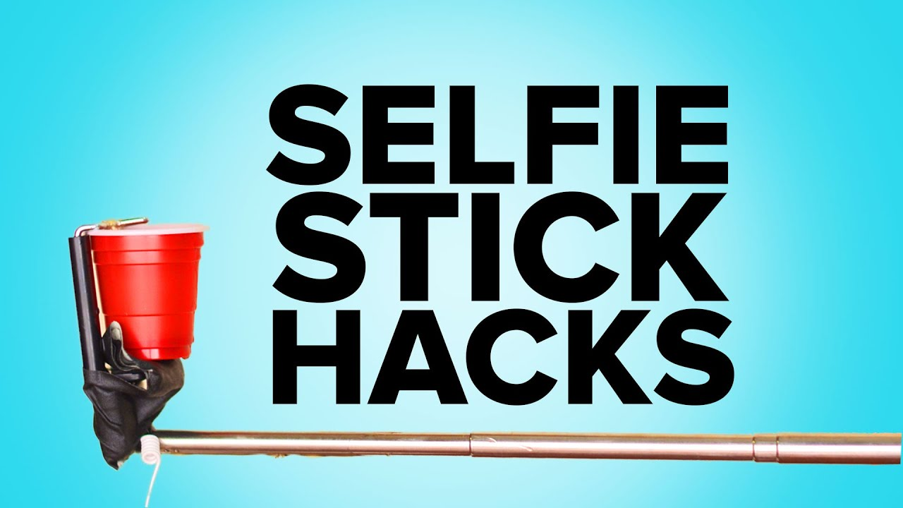 12 awesome selfie stick hacks you must try youtube. Black Bedroom Furniture Sets. Home Design Ideas