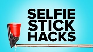 12 Awesome Selfie Stick Hacks You Must Try