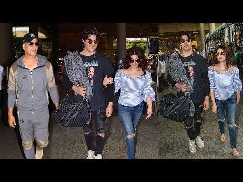 Akshay Kumar's Haandsome Son Aarav Bhatia Seen In New Look With Mom Twinkle Khanna AT Airport Mp3