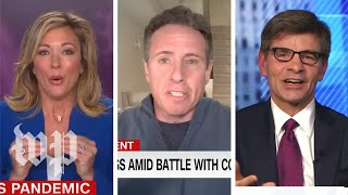 Cable news anchors with coronavirus share their experience with viewers