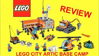 Lego City Arctic Base Camp (60036) Review