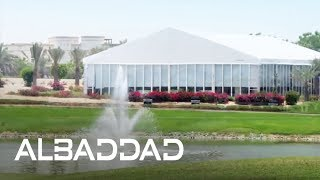 Pyramid Tent – Marquee – Event – EURO 2012 – THE GLASS LOUNGE – THE ADDRESS HOTELS DUBAI – AlBaddad