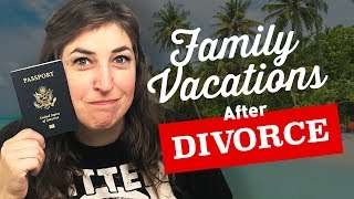 Vacationing as a Family After Divorce || Mayim Bialik