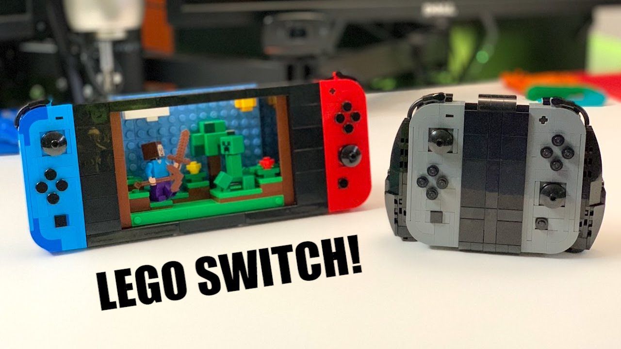Awesome Lego Nintendo Switch With Swappable Joy Cons Games Youtube