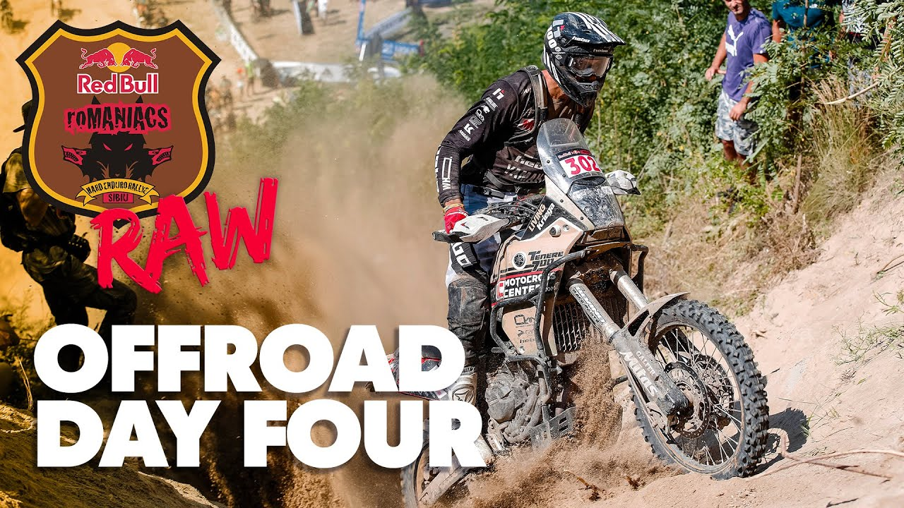 2021 Red Bull Romaniacs Offroad Day 4 - Raw Highlights