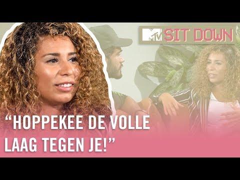 """OUASSIMA: """"Iemand als ARMOO vind ik heel nep. Doe gewoon NORMAAL JOH""""   MTV Sit Down"""