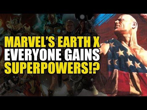 All Humans Gain Super Powers (Earth X Vol 1)