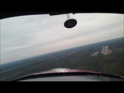 Grumman American AA-1B: PPL Training w/ Takeoffs and Landings