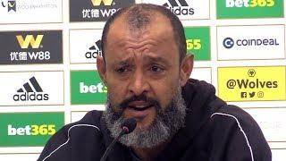 Wolves 0-2 Liverpool - Nuno Espirito Santo Full Post Match Press Conference - Premier League
