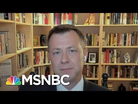 Peter Strzok: Trump Downplaying The Russia Threat Is 'Exactly Where We Started' | Deadline | MSNBC