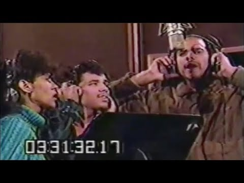 The Debarge family singing in the studio  RARE footage 1983