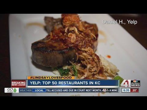 Yelp: Top 50 restaurants in Kansas City