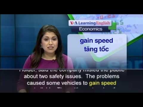 Phát âm chuẩn cùng VOA - Anh ngữ đặc biệt: Toyota Settlement (VOA-Econ)