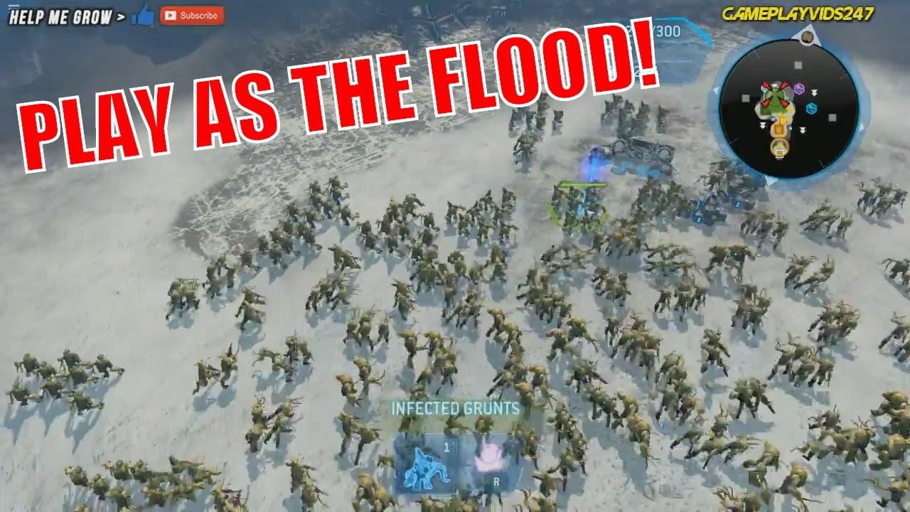 THE FLOOD MOD! - Halo Wars: Definitive Edition Mod Gameplay - GPV247
