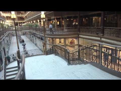 Shopping Inside The Cleveland Arcade