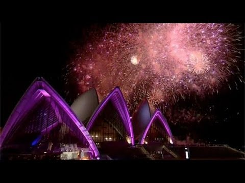 Fireworks and royalty for Sydney Opera House party