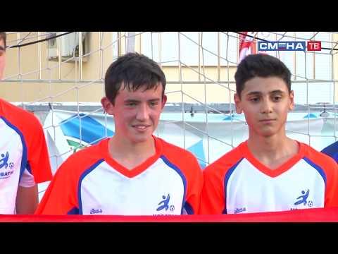 На «Президентских состязаниях» для сельских классов команд прошли финальные игры по мини-футболу