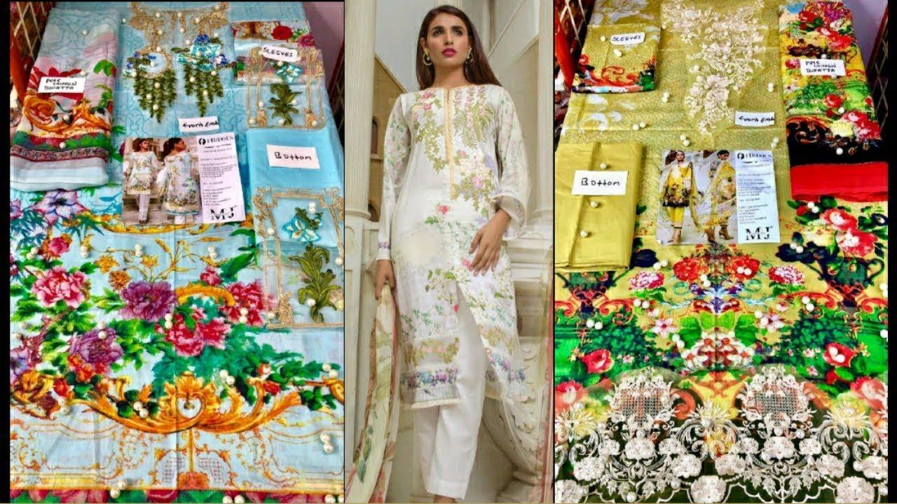 c2fb62bcd2 FIRDOUS (MASTER REPLICA) Pakistani suits - YouTube