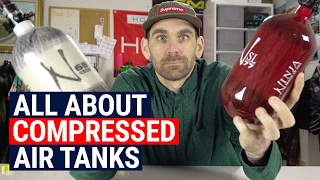 Compressed Air Tanks: Best Sizes, Weights, Shots and More!