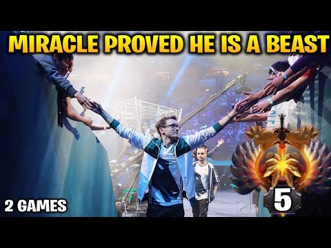 Miracle Proved That He is a FREAKING BEAST at Dota