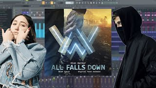 Video Alan Walker - All Falls Down [Fl studio Remake] (Instrumental) Full VDANNY download MP3, 3GP, MP4, WEBM, AVI, FLV Juni 2018