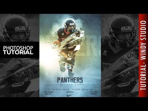 Photoshop Tutorial | Sports Poster thumbnail