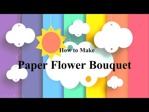 How to Make Paper Flower Bouquet (SBdP Kelas 1)
