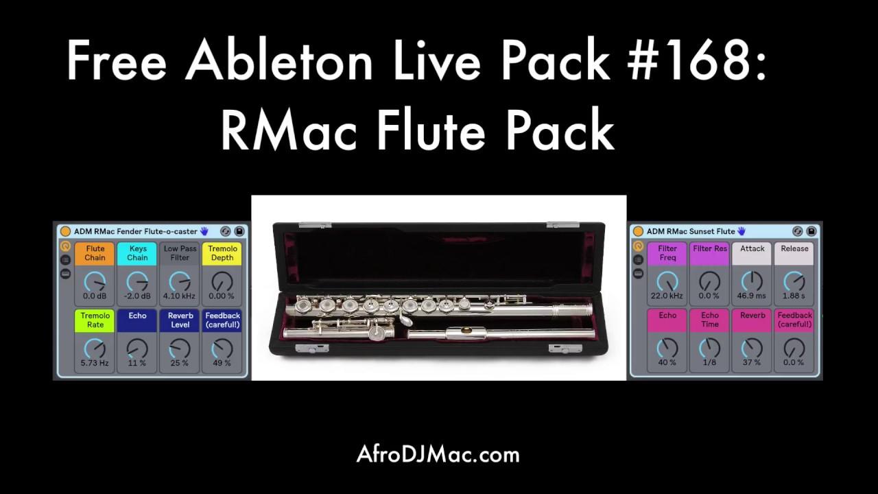 Ableton Live Flute Pack - Free Download