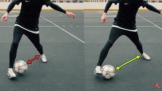 КАК СДЕЛАТЬ ФИНТ ЭЛАСТИКО! ОБУЧЕНИЕ | Football Skills Tutorial Elastico