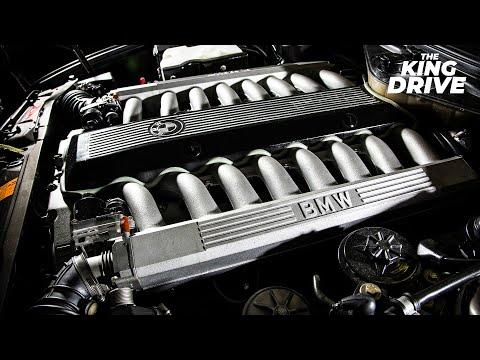 Уникальная BMW 7 серии с двигателем V16