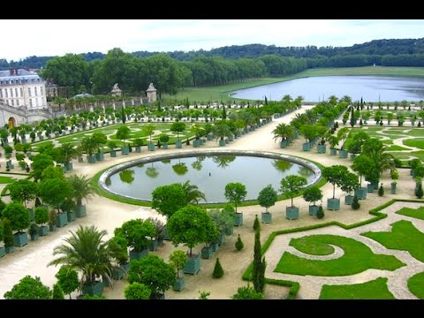 Gardens of versailles virtual tour through the gardens for Garden design versailles