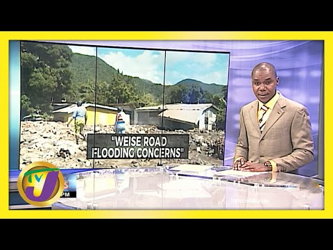 Flooding Concerns in Weise Road, Bull Bay Jamaica | TVJ News - June 1 2021