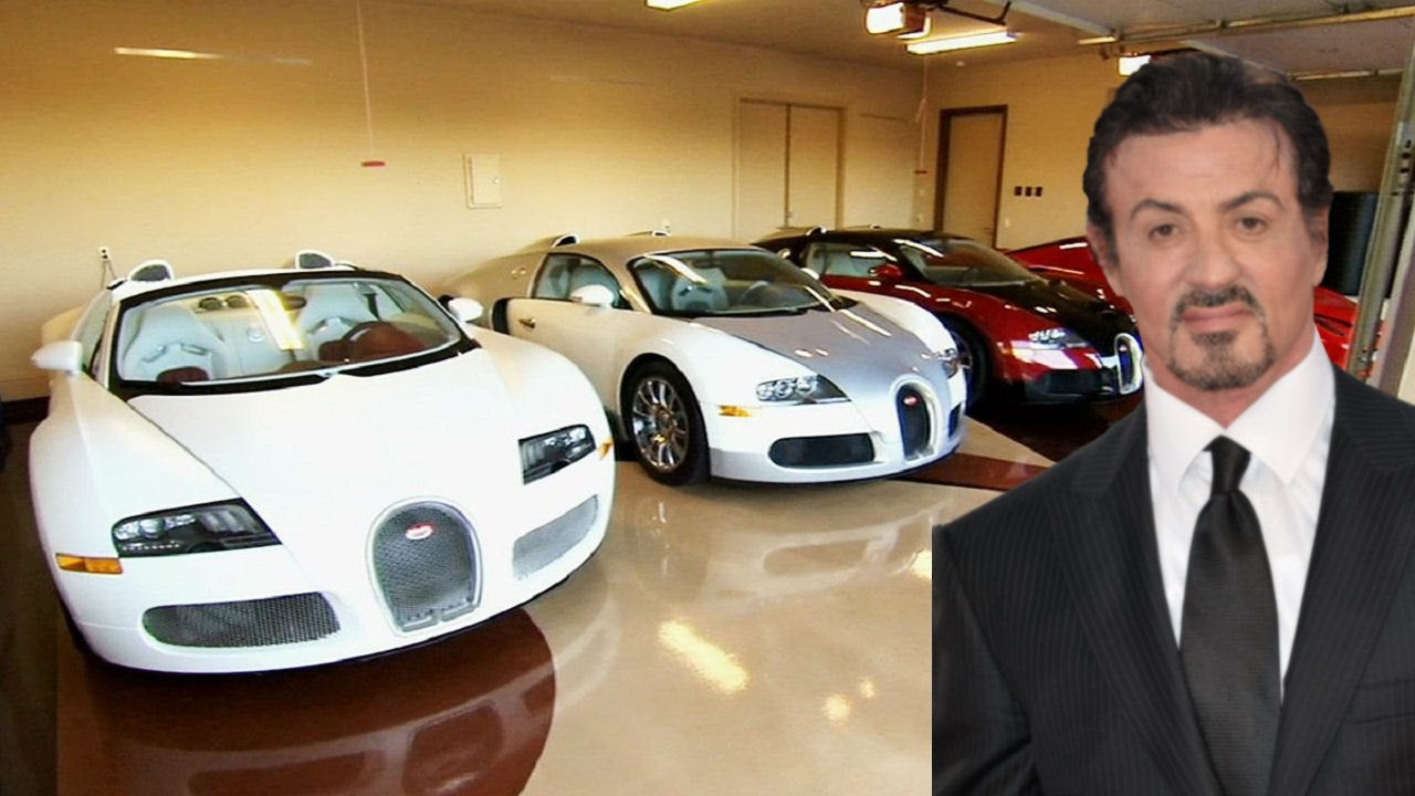Sylvester Stallone Cars Collection 2017 Youtube