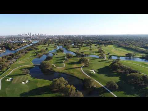 Drone video of the new Golf Course @ City Park New Orleans 2017