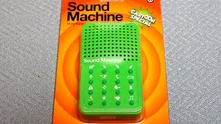 """Sound Machine """"Cartoon Special"""" - Detailed Hands on review - all 16 sounds - By NPW"""