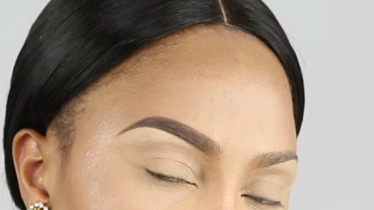 Eyebrow tutorial/ perfect natural eyebrows-Detailed |THE ...